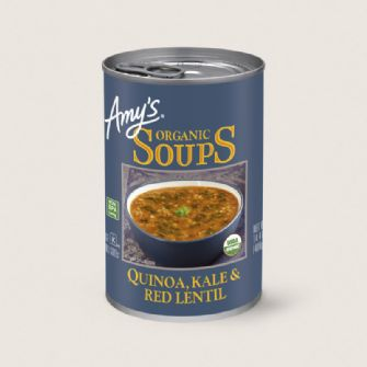 Amys Quinoa Kale Red Lent Soup 408g