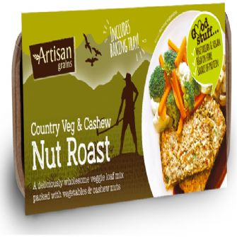 Artisan Grains Nut Roast Country Vegetable & Cashew 200g