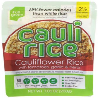 Caulirice Tom Garlic & Herb 200g