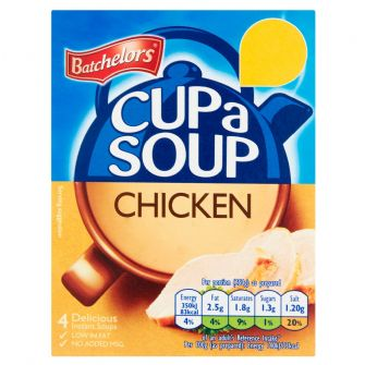 Batchelors Cup-a-Soup Chicken 4 Pack 81g