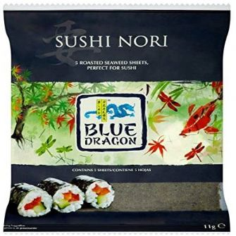 Blue Dragon Sushi Nori 11g