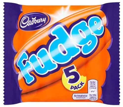 Cadbury's Fudge 5 pack