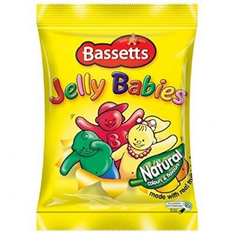 Bassetts Jelly Babies Bag 165g