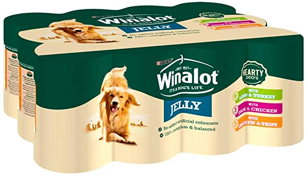 Winalot Assorted Jelly Tins 12 x 400g