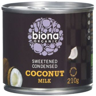 Biona Condensed Coconut Milk 210ml