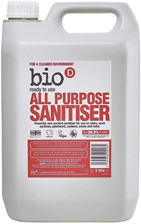Bio D All Purpose Sanitiser 5 litres