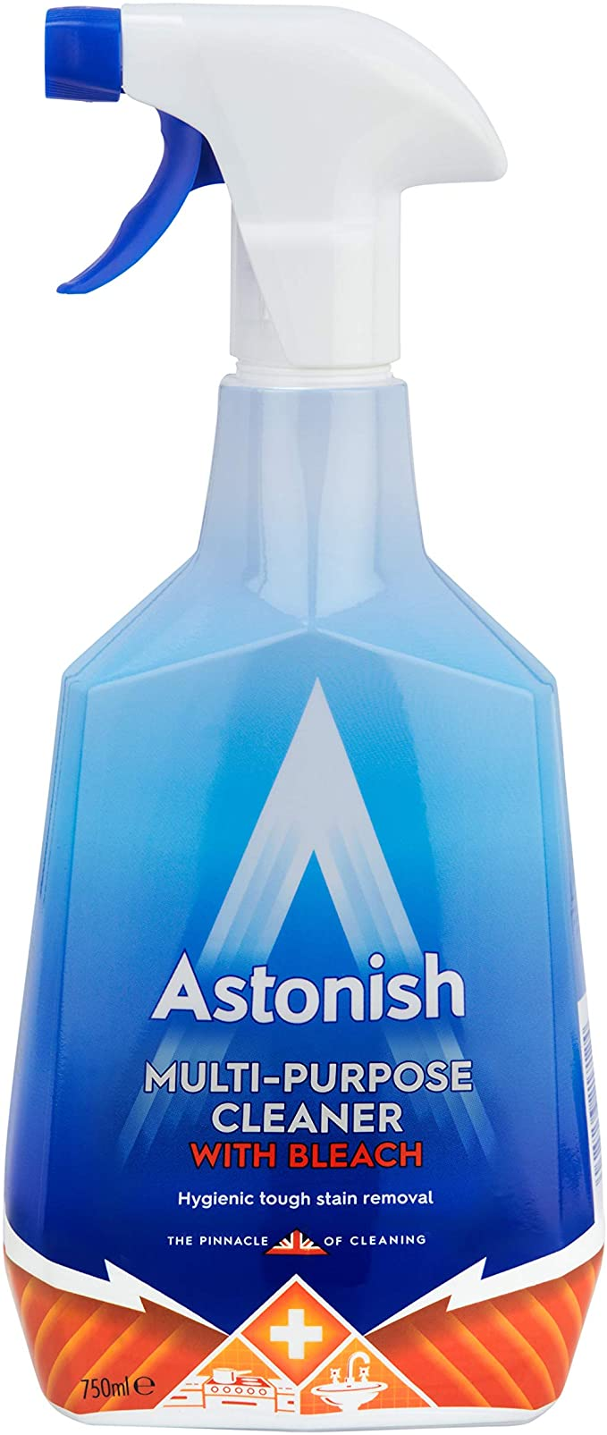 Astonish Multi Purpose Cleaner With Bleach Trigger Spray 750ml