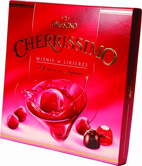 Cherrissimo Cherries In Liqueur & Dark Chocolate 104g
