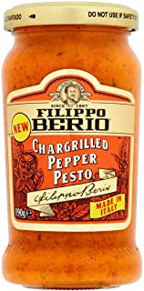 Filippo Berio Chargrilled Pepper Pesto 190g
