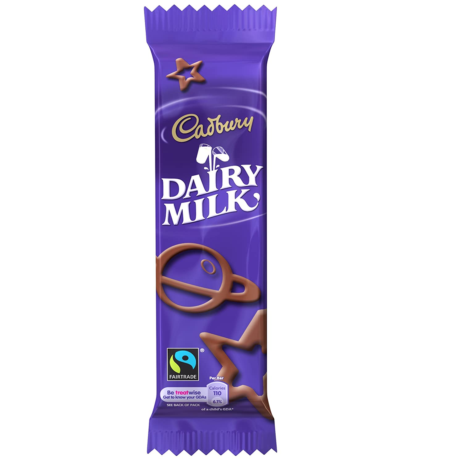 Cadbury's Dairy Milk Little Bars 6 pack 84g