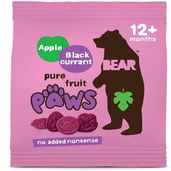 Bear Paws Apple & Blackcurrant Mulitpack 5 X 20g