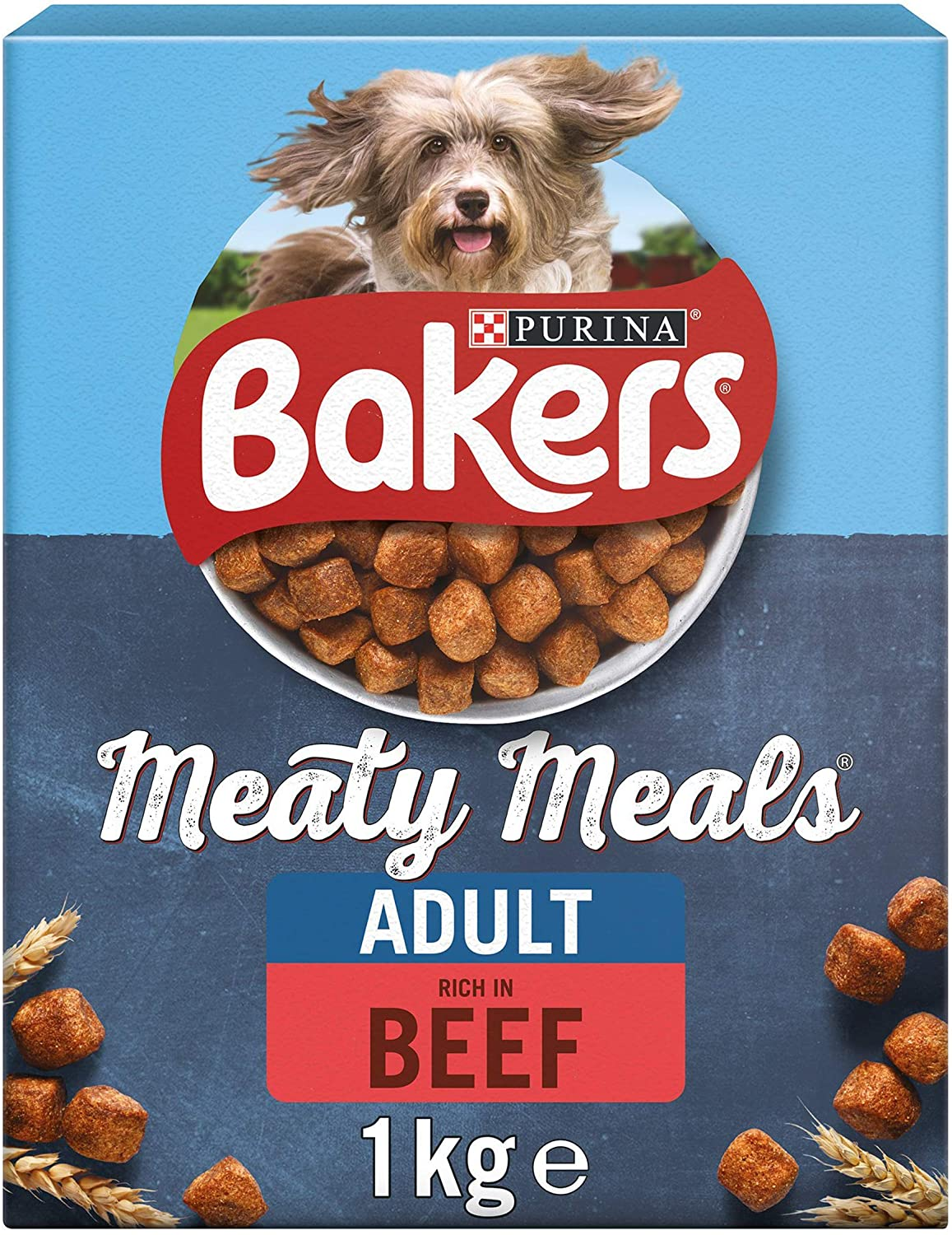 Bakers Meaty Meal Beef 1kg