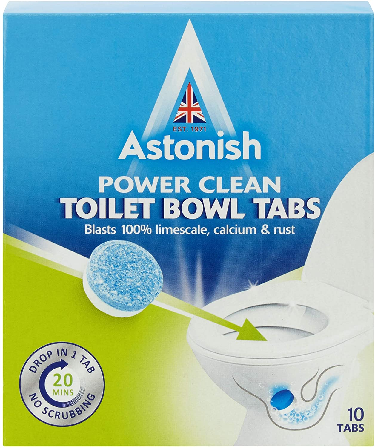 Astonish Power Clean Toilet Bowl Tablets 10 X 25g