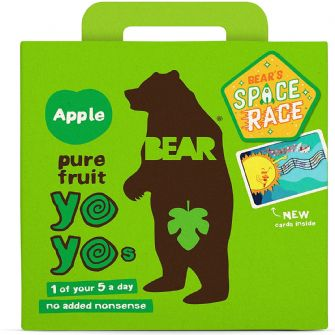 Bear Yoyo Apple Multipack 5 X 20g
