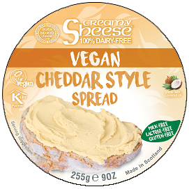 Bute Cheddar Style Spread Creamy Sheese 255g
