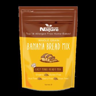 Creative Nature Organic Banana Bread Mix 250g
