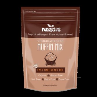 Creative Nature Organic Chocolate Chip Muffin Mix 250g