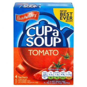 Batchelors Cup-a-Soup Tomato 4 Pack 93g