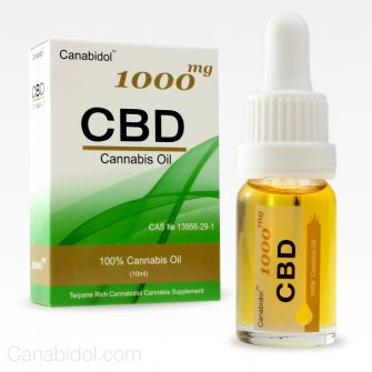 Canabidol CBD Oil Drops 1000mg 10ml