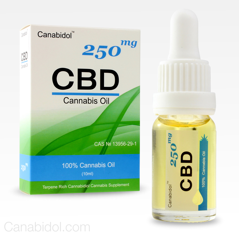 Canabidol CBD Oil Drops 250mg 10ml