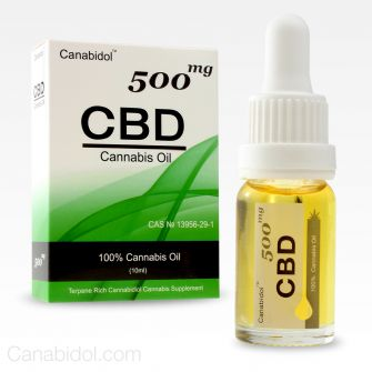 Canabidol CBD Oil Drops 500mg 10ml