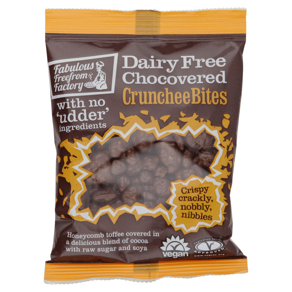 Fabulous Free From Factory Crunchee Bites 65g