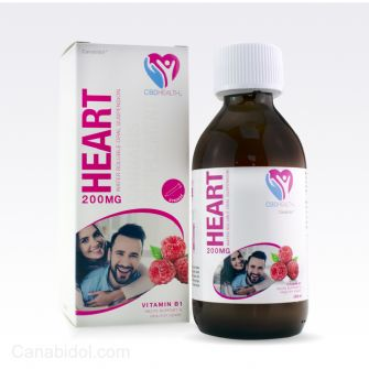 Canabidol CBD Health Heart Support 200mg