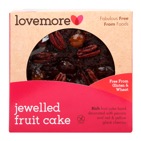 Jewelled Fruit Cake