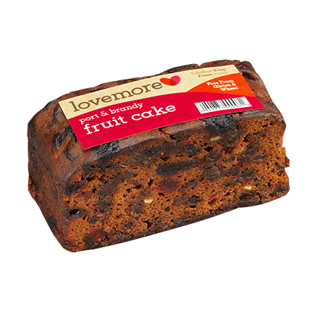 Port & Brandy Fruit Slab Cake
