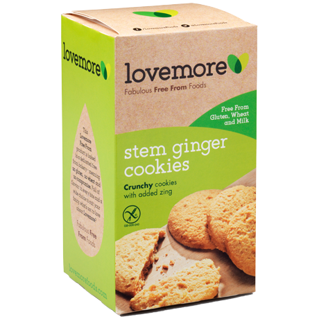 Stem Ginger Cookies