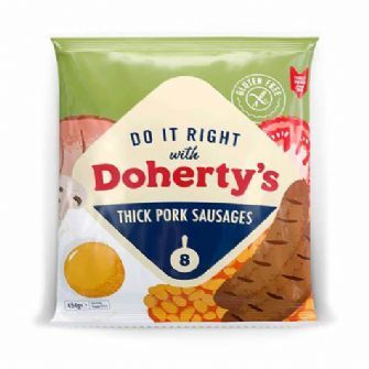 Doherty's Pork Sausages 454g