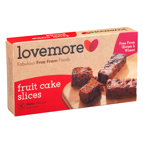 Fruit Cake Slices