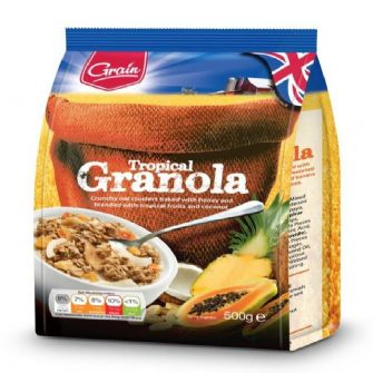 Grain Tropical Granola 500g