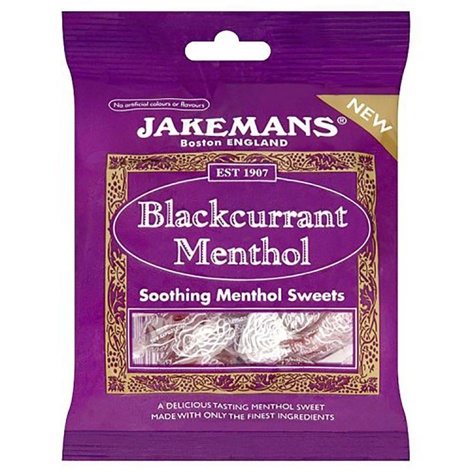 Jakemans Blackcurrant Menthol Lozenges 100g