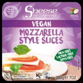 Bute Sheese Mozzarella Style Sliced 200g