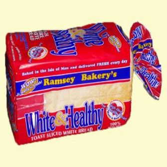 Ramsey Bakery White & Healthy Thick Sliced 800g