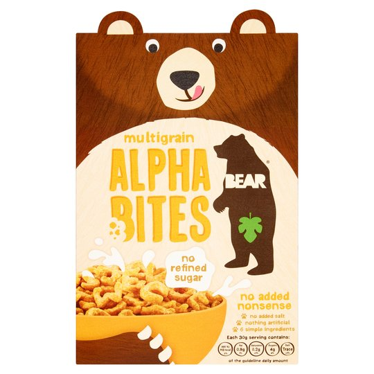 Bear Alphabites Multigrain Cereal 350g
